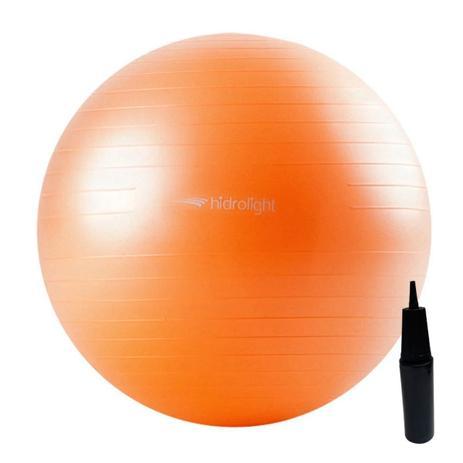 Imagem de Bola De Exercícios Pilates Hidrolight Com Bomba 55cm