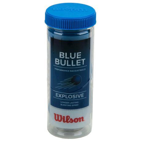 Imagem de Bola de Frescobol Wilson Blue Bullet