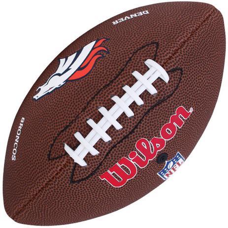 Bola de Futebol Americano NFL Denver Broncos - Wilson - Bola de ... e4160b7014bc6