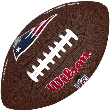 110f6f65d Bola de Futebol Americano NFL New England Patriots - Wilson - Bola ...