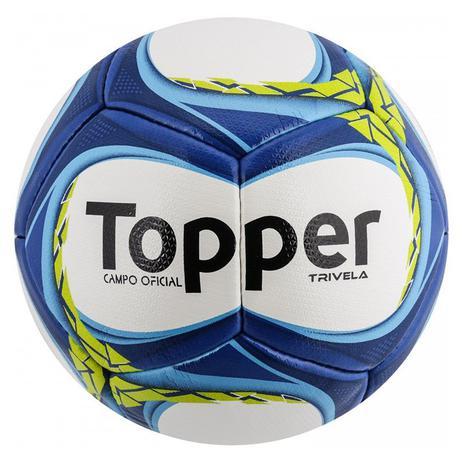 Bola de Futebol Campo Topper Trivela V12 - Bolas - Magazine Luiza 81150d5b79e94