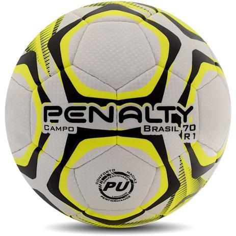 b65778ee368b9 Bola de Futebol de Campo Brasil 70 R1 BC-AM-PT - Penalty - Bolas ...