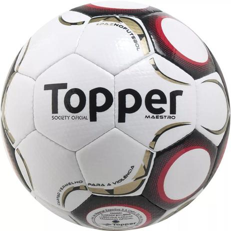 2178cd48c9 Bola de Futebol Society Maestro TD2 - Topper - Bolas - Magazine Luiza