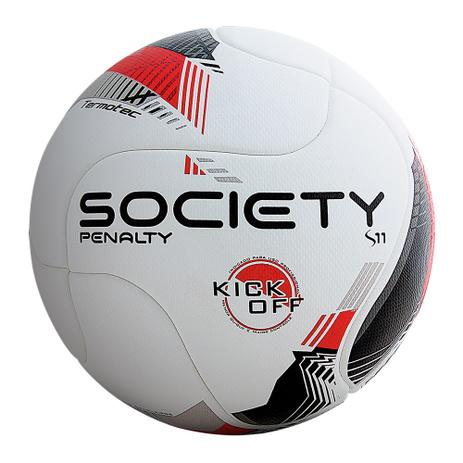 Bola De Futebol Society Penalty 8 R1 Kick Off - Bolas - Magazine Luiza 0d0ad1273284a