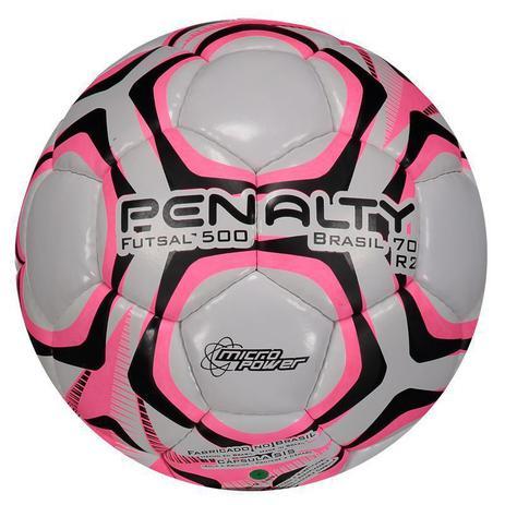 Bola de Futsal 500 Brasil 70 R2 IX - Penalty - Bolas - Magazine Luiza f6bdf519edb4f