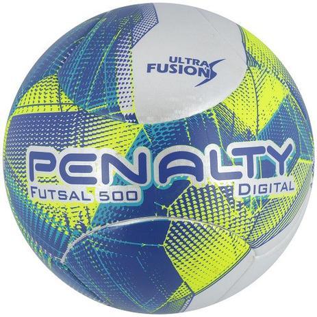 Bola de Futsal 500 Digital Ultra Fusion VII OFicial - Penalty ... 4e0557832eaf2