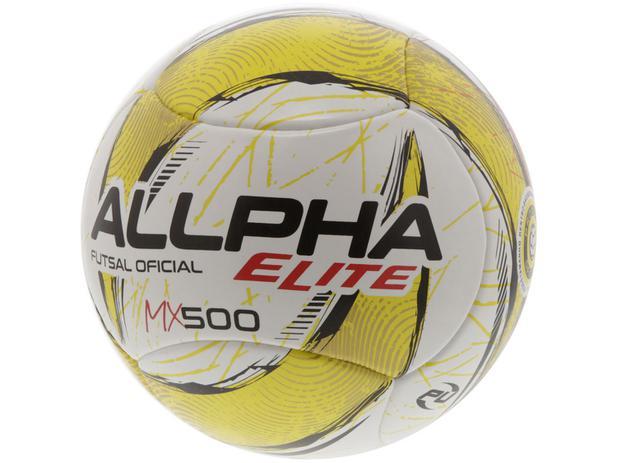 bf3cc1f095 Bola de Futsal Elite MX500 Allpha - 333 - Bolas - Magazine Luiza