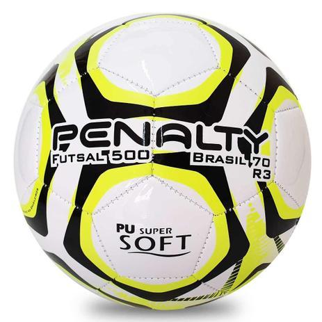 0a8198480 Bola de Futsal Penalty Brasil 70 500 R3 IX - Bolas - Magazine Luiza