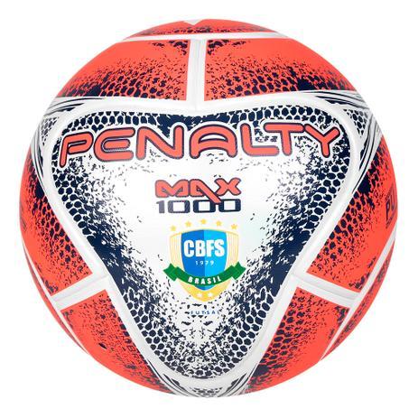 Bola de Futsal Penalty Max 1000 541483 - Cor 1461 - Bolas - Magazine ... 04a3f10b3c021