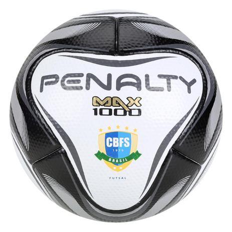 Imagem de Bola de Futsal Penalty Max 1000 All Black - Edição Limitada