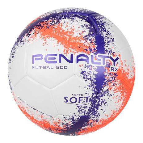 Bola de Futsal Rx 500 R3 Futsal Ultra Fusion 520309 - Cor 1465 - Penalty 142968b4fd41d