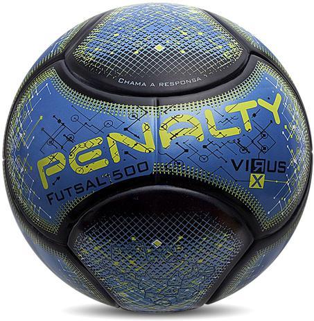 Bola de Futsal RX Virus 500 - Penalty - Bolas - Magazine Luiza ff59689d4d427