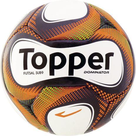 cfb99cded6 Bola de Futsal Sub 9 Dominator Sem Costura - Topper - Bolas ...