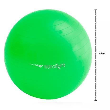 472ac8b1f2 Bola de Pilates Ginástica Yoga Fisioterapia Hidrolight 65cm FL13B ...