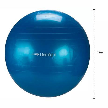 Bola de Pilates Ginástica Yoga Fisioterapia Hidrolight 75cm FL13C ... 21b2b118d7cb
