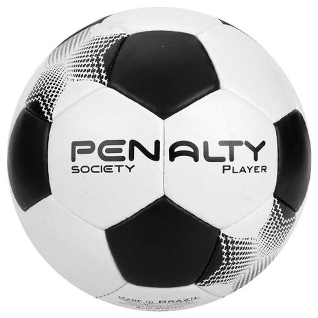 Bola de Society Player VII Branco e Preto - Penalty - Bolas ... 9c19799e817df