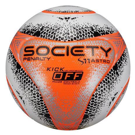 befbd57191 Bola de Society S11 Pró Astro Kick Off VIII - Penalty - Bolas ...