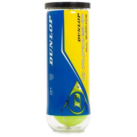 d35032ba4 Bola de Tênis Dunlop Championship Tubo com 03 Unidades - Produtos ...