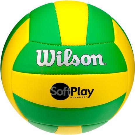 b5a22ce1e Bola de Vôlei Wilson - Soft Play - Bolas - Magazine Luiza
