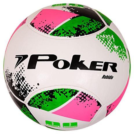 Bola Futebol Poker Rubidio - Bolas - Magazine Luiza aa36c104f7310