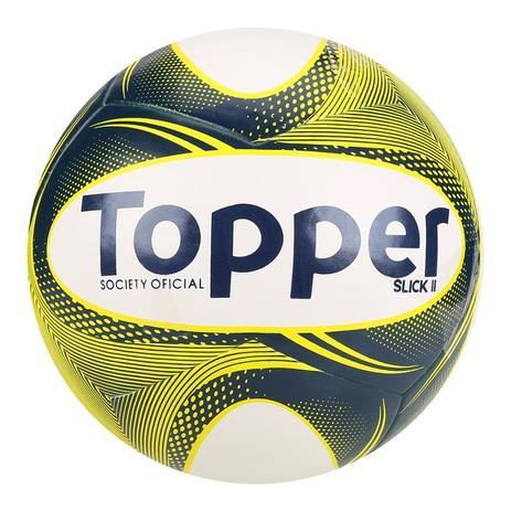 Bola Futebol Society Topper Slick II - Bolas - Magazine Luiza 7a3baef2dec8c