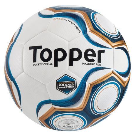 Bola Futebol Topper Maestro Pro Society Grama Sintética - Bolas ... b34cf26704ae3