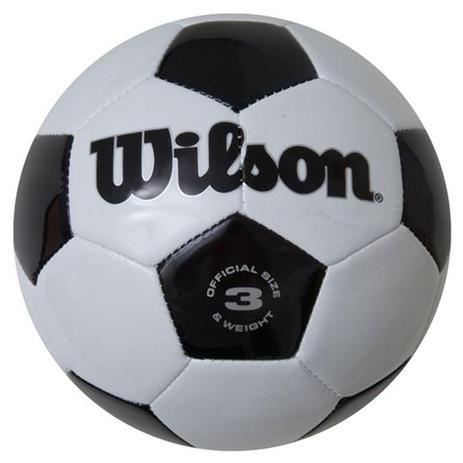 Bola Futebol Tradicional No. 3 Oficial - Wilson - Bolas - Magazine Luiza 00e5d8dce91a2
