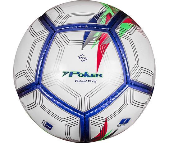 a6c94dcb17977 Bola Futsal Croy Prime 12 Gomos - BRANCO - único - Poker - Bolas ...