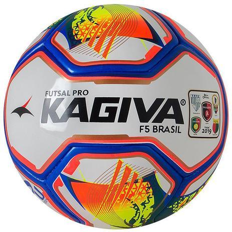 7d4e10f32ce2e Bola Futsal Kagiva Pró F5 Brasil 2019 - Bolas - Magazine Luiza