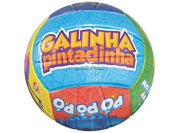 Bola Galinha Pintadinha Pó Pó Pó Líder Brinquedos - 2001 ... 65a7470f8225c
