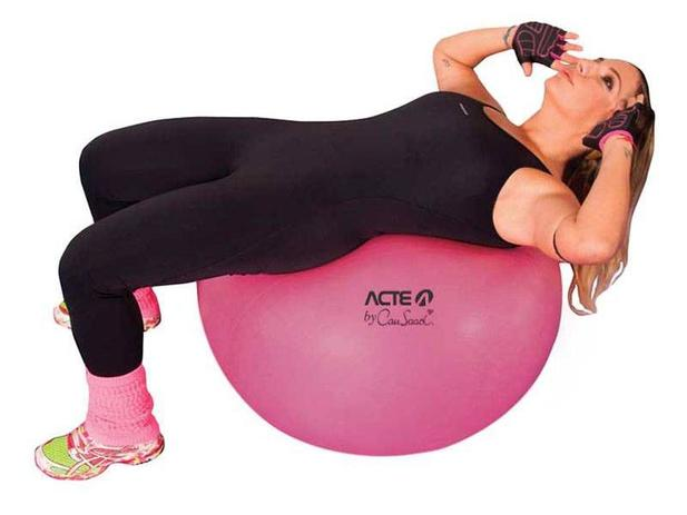Bola para Pilates 65cm Acte Sports - Cau Saad - Bolas - Magazine Luiza 9c7b980185d8d