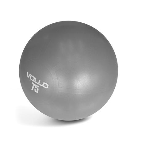 8d207c0210 Bola Pilates Gym Ball Com Bomba 75cm VP1036 Vollo - Vollo sports ...