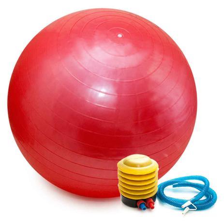 Imagem de Bola Pilates Yoga Fitness 75 cm C/ Bomba Abdominal Ginastica