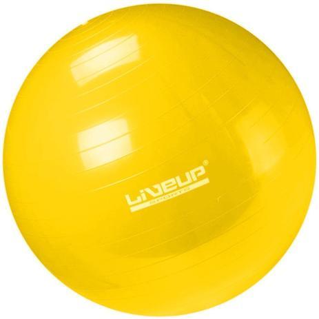 8af425e0f9ea0 Bola Suica 75 Cm Liveup Amarelo Pilates Yoga - Bolas - Magazine Luiza