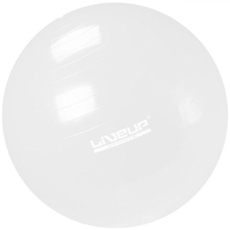 Imagem de Bola Suica para Pilates 65cm Transparente Liveup