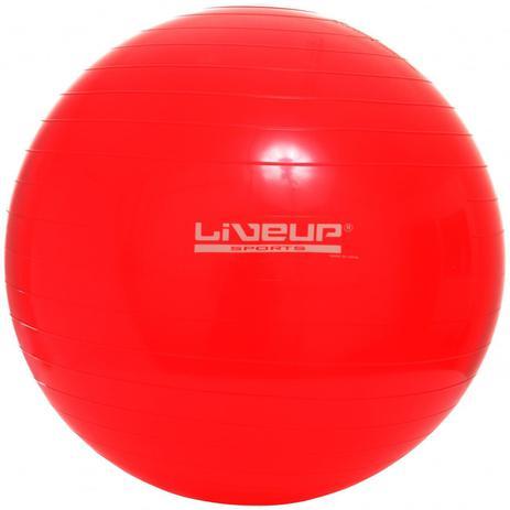 Imagem de Bola Suíça Para Pilates antiestouro 45Cm - Vermelha - Liveup