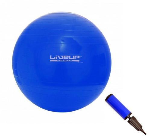Imagem de Bola Suíça para Pilates com Bomba de Inflar Live Up - 65cm