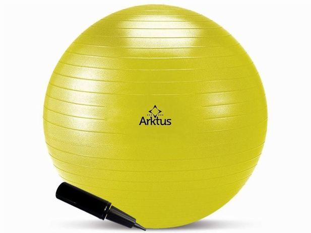 Imagem de Bola Suíça para Pilates - Inflável com Bomba - Anti-burst - Arktus