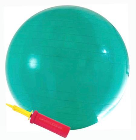 Imagem de Bola suíça (pilates) - 55cm - c/ bomba - verde