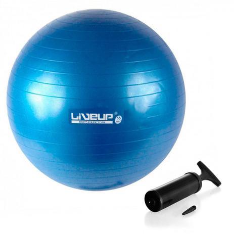 Bola Suica Premium 55 Cm Azul + Mini Bomba de Inflar liveup - Bolas ... 63f1b3b144f1