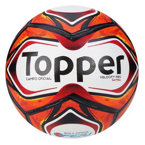 Bola Topper Futebol Campo Samba Velocity Pro - Bola de Futebol ... 9055c2bb203e6