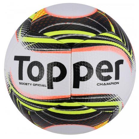 Bola Topper Futebol Society Champion II - Bolas - Magazine Luiza 489dcdb3ad531