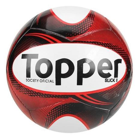 Bola Topper Futebol Society Slick II - Bolas - Magazine Luiza 7cb0a26f569fa