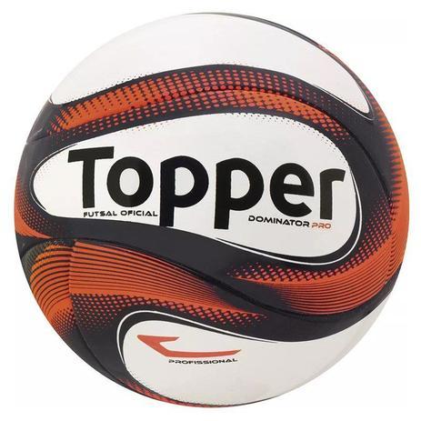 b08edf079 Bola Topper Futsal Dominator Pro FS - Bolas - Magazine Luiza