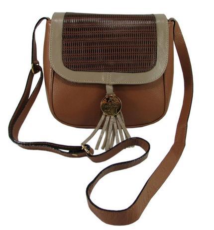 d79cf9551 Bolsa Feminina Pequena Charme Couro Legitimo - Couribi - Bolsas e ...