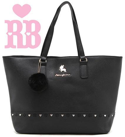 f1332b935 Bolsa Feminina Rebecca Bonbon Original Lado Grande Preta Tote Bag Semax