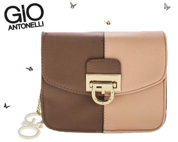 225d5dff3 Bolsa Giovanna Antonelli Mini Bag Transversal Marrom GIO7801 - Semax ...