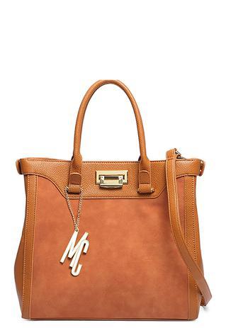 900687c16 Bolsa Grande Macadâmia Estilo Tote Bag Tecido P.U Caramelo CARAMELO -  Macadamia
