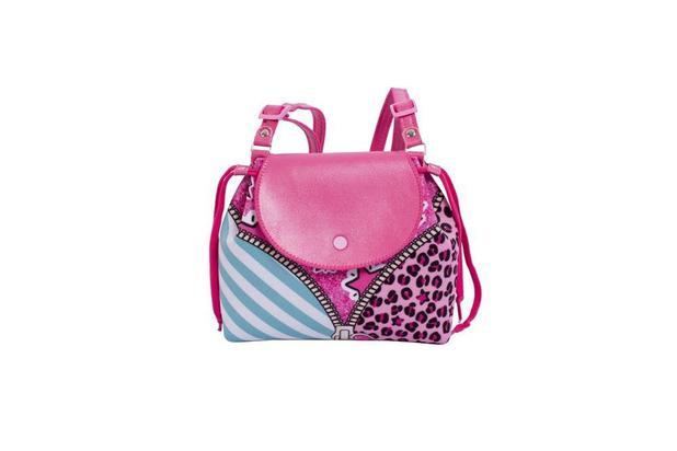 b2baf9354 Bolsa Infantil Princesa Pink Mochila Ziper - Mochila Infantil ...
