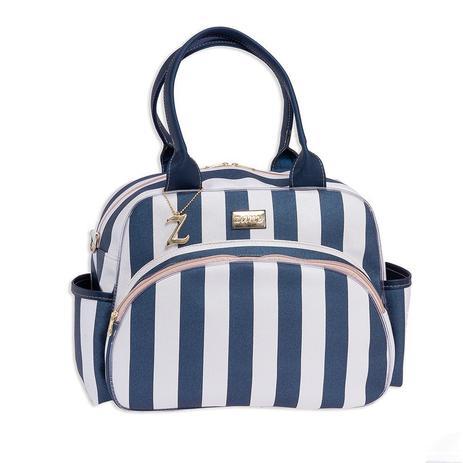 Imagem de Bolsa Maternidade Bebê Luxo Elegance Azul Marinho M